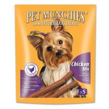 Pet Munchies Chicken Stix 50g - Pet Products R Us