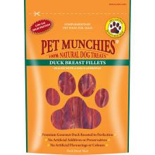 Pet Munchies Duck Breast Fillets 80g - Pet Products R Us