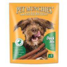 Pet Munchies Duck Stix 50g - Pet Products R Us