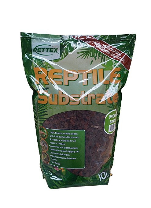 Pettex Reptile Substrate Orchid Bark 10 ltr - Pet Products R Us