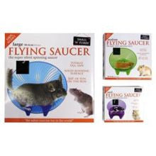 Small 'N' Furry Flying Saucer Wheel - Pet Products R Us