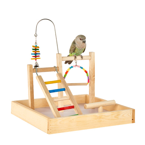 The Liberta Table Top Bird Play Stand