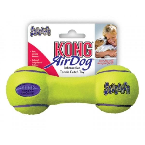 Air Kong Squeaker Dumb Bell - Pet Products R Us