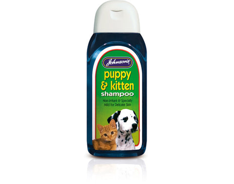 Johnsons Puppy & Kitten Shampoo 125ml - Pet Products R Us