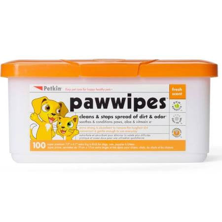 Paw Wipes - Pet Products R Us