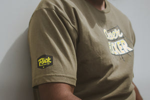 'Clever Flicker' men's staple tee