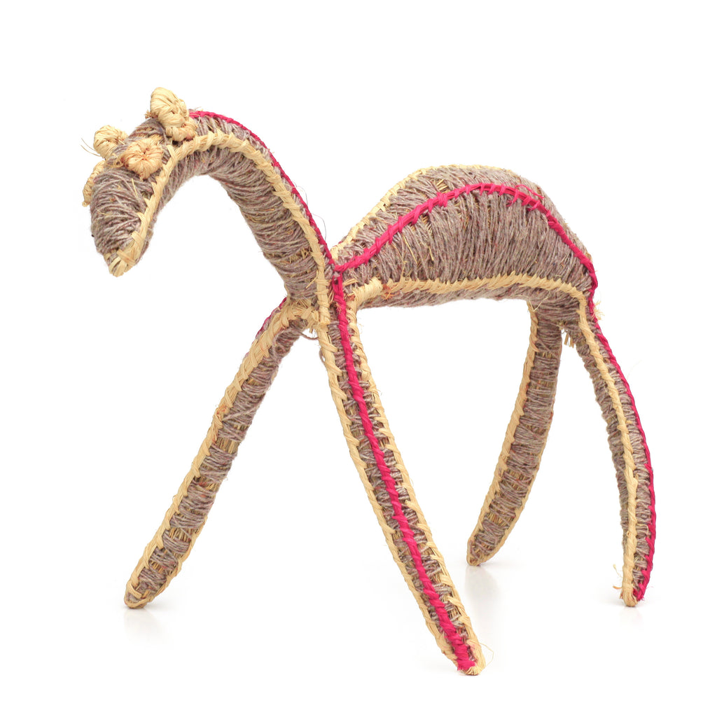 Aboriginal Art - Joyce James - Camel Tjanpi Sculpture - ART ARK®