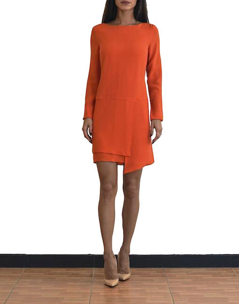 Tibi - Bibelot Long Sleeve Dress