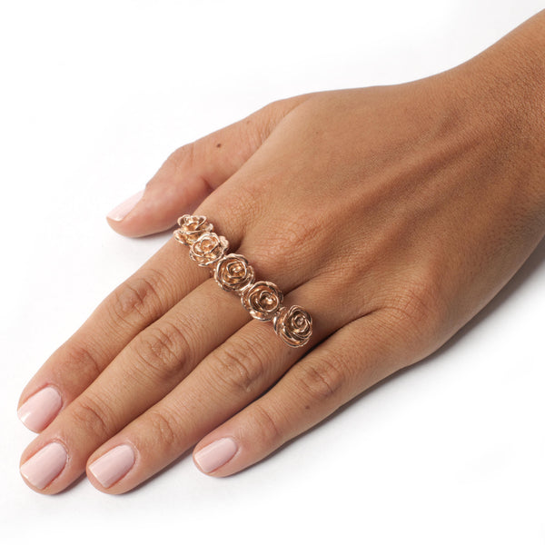 Lei Van Kash Flora Knuckle Ring