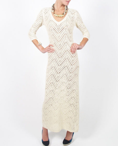 Mara Hoffman Knit Crochet Dress