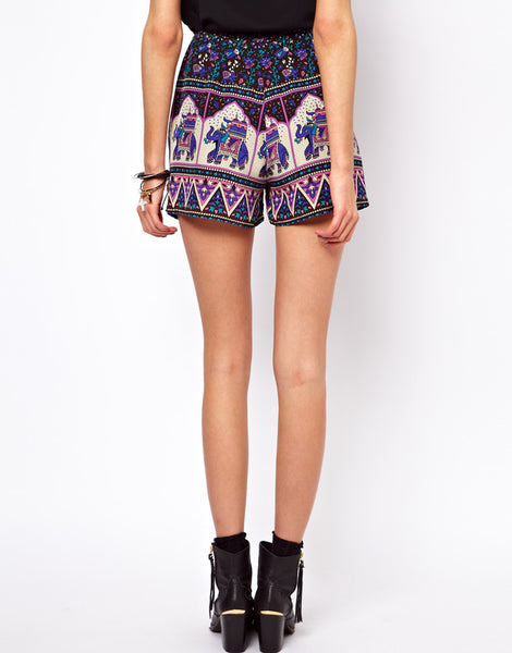 Winter Kate Lila Shorts