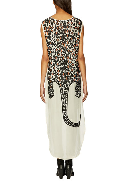 Mara Hoffman Leopard Beaded Dashiki