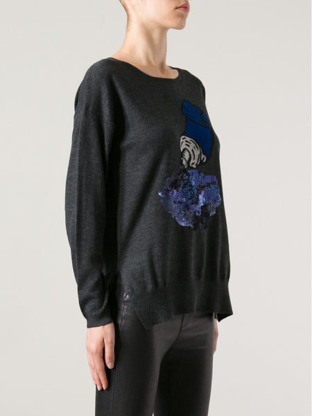 Markus Lupfer Paint Tube Sequin Jumper
