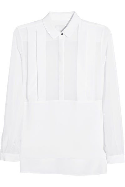 Richard Nicoll Silk-Georgette Shirt