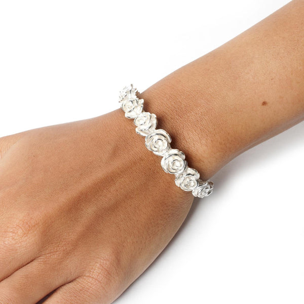 Lei Van Kash Rose Love Cuff