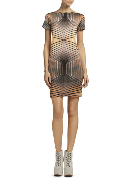 Georgia Hardinge Geometric Print Dress