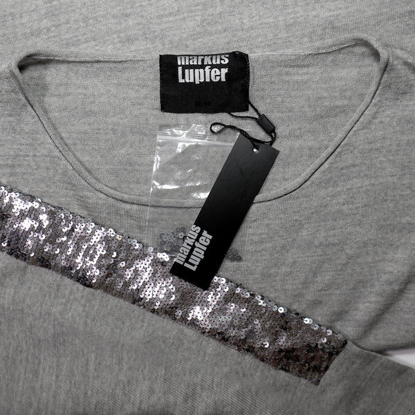 Markus Lupfer Sequin Armour Jumper