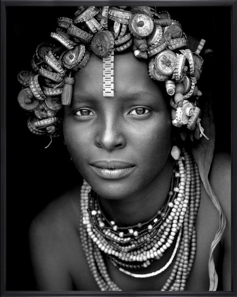 African beauty / Black Frame