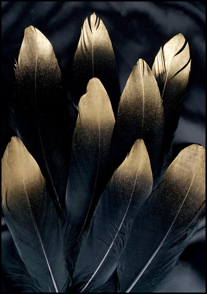 Golden feather | Alu Art