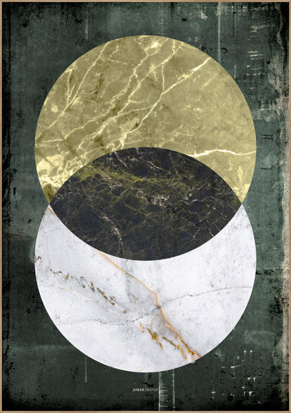 Marble Rustic | Poster Board