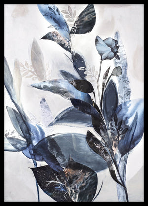 Blue Leaves | PLAKAT | POSTER