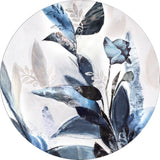 Blue Leaves | CIRCLE ART | RUNDE BILLEDER