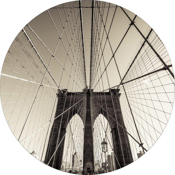Cross manhattan | CIRCLE ART | RUNDE BILLEDER