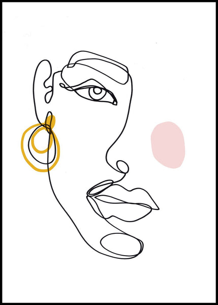 Face line 3 | Alu Art