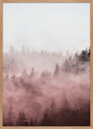 Foggy red  | PLAKAT | POSTER