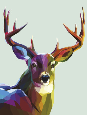Graphic Deer