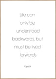 Life can only | Poster Board