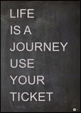 Life is a journey | Poster Board