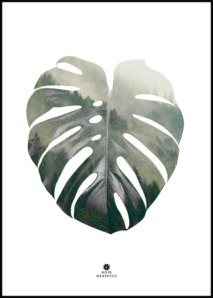 Monstera Leaf | Alu Art