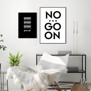 No... go on | POSTER BOARD