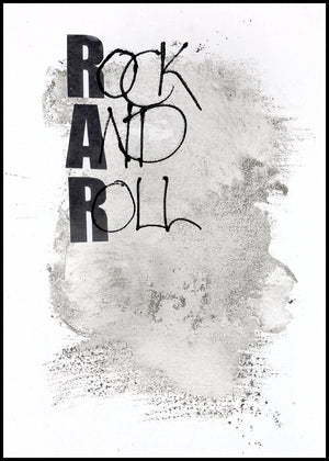 Rock and Roll | Alu Art