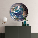 The Blue Marble | CIRCLE ART | RUNDE BILLEDER