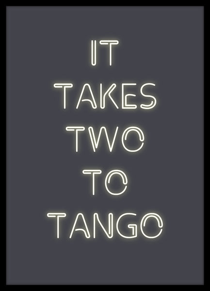 Two to tango | PLAKAT | POSTER