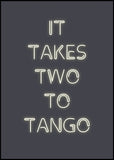 Two to tango | POSTER BOARD