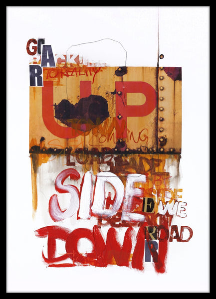 Up side down 1 | PLAKAT | POSTER