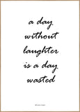 Without laughter | POSTER BOARD