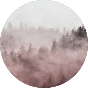 Foggy red  | CIRCLE ART | RUNDE BILLEDER