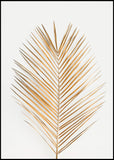 Palm Leaf Gold | Alu Art