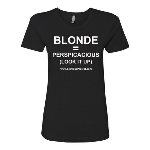 Blonde Fit T-shirt