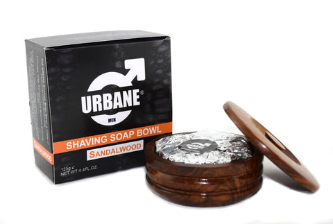Urbane Men Sandalwood Shaving Soap