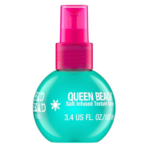 TIGI Bead Head QUEEN BEACH Salt Infused Texture Spray for Beachy Waves 100ml