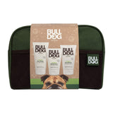 Bulldog Skincare Kit for Men with Wash Bag - Moisturiser, Face Wash & Face Scrub