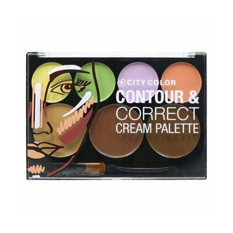 City Color Contour & Correct Cream Palette All-In-One
