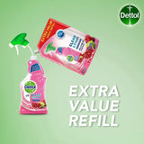 Dettol Antibacterial Clean Fresh Multipurpose Pomegranate Spray REFILL 1.2L