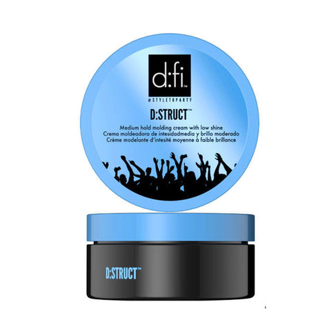 D:FI D:STRUCT Medium Hold Molding Cream with Low Shine 150g