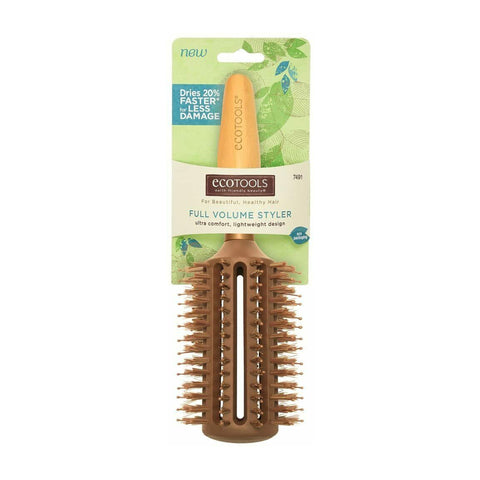 Eco Tools FULL Volume Styler Hair Brush - Ultra Comfort, Lightweight Design
